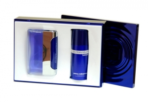 set ultraviolet man paco rabanne edt 100 ml con deo