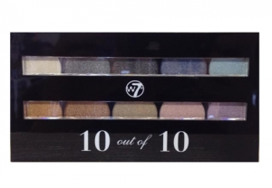 w7 cosmetics 10 out of 10